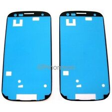 2 x Pre-Cut Adhesive/Glue for Samsung Galaxy S3 III AT&T i747 Touch Screen Glass