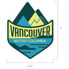 Vancouver British Columbia Travel STICKER - Mountains and Ocean