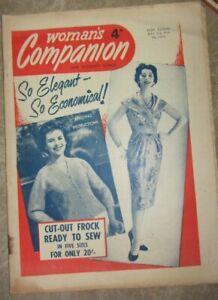 Woman's Companion Vintage Magazine May 2nd 1959