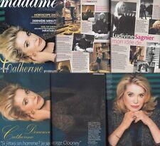 Madame Figaro Frankreich Ludivine Sagnier,Catherine Deneuve, Audrey Hepburn,Jane
