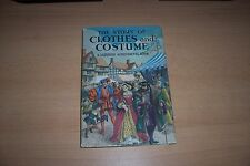 LADYBIRD BOOK THE STORY OF CLOTHES AND COSTUME DUST/JACKET, 2/6 NET