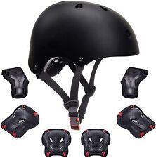 7PCS Kids Sports Safety Skating Protective Gear Set Pad Helmet Knee Elbow Wrist