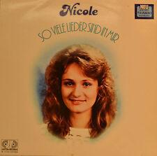 """NICOLE - SO VIELE LIEDER SIND IN MIR 12""""  LP (T980)"""