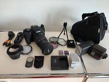 Canon 600D Digitale Spiegelreflex + Zubehörpaket
