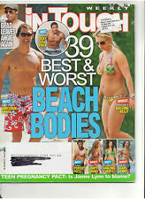IN TOUCH BEST & WORST BEACH BODIES SPEARS DREW LANCE IDOL DIAZ SABATO GOMEZ 2008