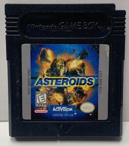 Asteroids DX Nintendo GameBoy Color GBC Cart Only Authentic Colour NTSC Game Boy