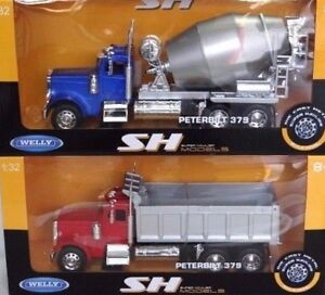NEW,Welly,Peterbilt 379, 1:32,Die cast trucks,New in box,Different colors