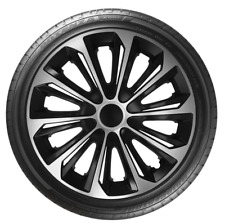 "4 x 14"" Wheel Covers Hub Caps 14 Inch Wheel Trims Trim ABS Plastic Trim StrDuoSV"