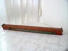 Ancien rideau carrosse en bois de rose et bronze