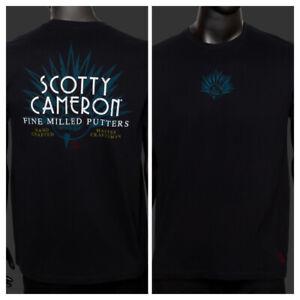 Scotty Cameron TCC T-Shirt Hattori Agave Man Black Extra Large (XL)