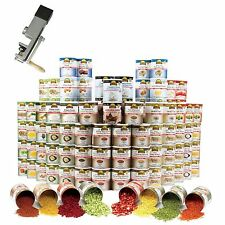 Augason Farms Deluxe One (1) Year Food Storage Kit 98 #10 Cans 5764 Servings