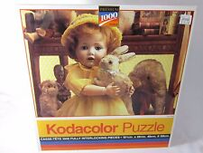 """Kodacolor Roseart 1000 Pc PUZZLE No.44444 """"TOY SHELF"""" 1994 Sealed"""