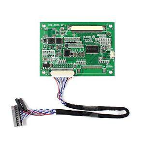Fit ToA070VW04 V0 A080SN01 V0 A104SN03 V1 60Pin LCD LVDS to TTL Tcon Board