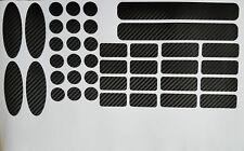 Marco de bicicleta protección carbon negro MTB cadenas marco protección Cube Ghost 40 pzas.