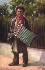 London Life. Please, A Penny in Tuck Oilette Series 9015.