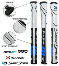 New - Super Stroke Traxion GT 1.0 Putter Grip - Black/Blue/White FREE SHIPPING