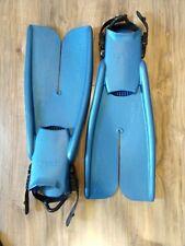 Apollo Bio-Fins Pro Nature's Wing Size M SCUBA Snorkel Diving Split Fins BLUE