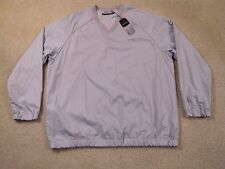 $75 GREG NORMAN MESH LINED PULLOVER V-NECK WINDBREAKER/JACKET - NEWwTAGS