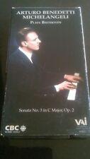 ARTURO BENEDETTI MICHELANGELI BEETHOVEN PIANO SONATA OP 2 NO 3 VIDEO