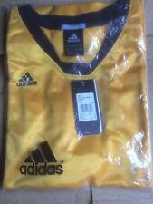 Maillot ADIDAS sport jaune et noir XL Neuf Clima365