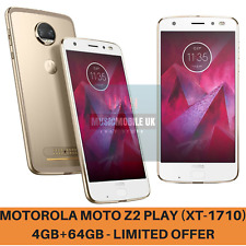 New Motorola Moto Z2 Play XT1710 4GB 64GB Gold Unlocked Android 4G Smartphone