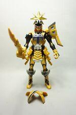Power Rangers Gold Super Samurai Ranger raro encontrar incompleto