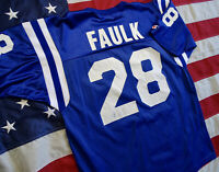 Vintage Champion Jersey NFL Indianapolis Colts Marshall Faulk Size 44 Large EUC