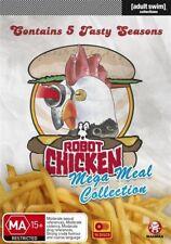 Robot Chicken - Mega Meal Collection : Season 1-5 (DVD, 2012, 10-Disc Set)