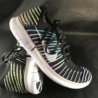 Nike Free Run RN Flyknit Running Shoes 831069-003 Mens 9 US 42.5 EUR 8 UK