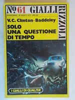 Solo una questione di tempoClinton-Baddeley Rizzoli1976gialli qualità 61 10