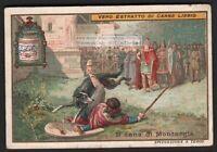 Legend Of The Dog Of Montargis France Cane Di Montargis c1903 Trade Ad Card I