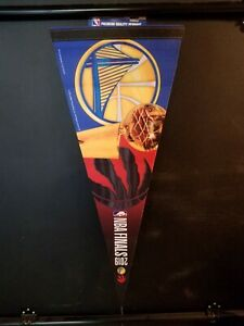 2019 NBA Finals Premium Pennant Golden State Warriors Toronto Raptors