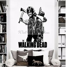 Norman Reedus Wall Art Sticker/decal The Walking Dead Daryl Dixon Zombies