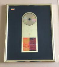 Rilke Projekt Gold Award (goldene Schallplatte) Bis an alle Sterne Xavier Naidoo