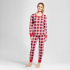 Gilligan   O malley Women s Really Red Plaid 2pc Thermal Pajamas Set ... 51ab19bb9