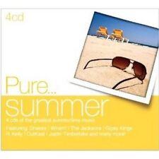 Various Artists - Pure Summer - 4xCD Digipak - Brand New Sealed