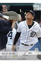 2018 Topps NOW MLB MOW-9 Rally Goose Helps Tigers Win 4th Straight