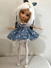 Ever after Monster High Doll handmade 6 piece baby doll dress set clothes shoes