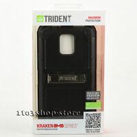 Trident Kraken AMS Samsung Galaxy S5 Hard Shell Case w/Holster Belt Clip - Black