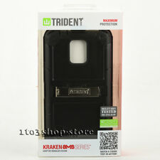 Trident Samsung Galaxy S5 Kraken A.M.S. Series Hard Case Cover Black NEW