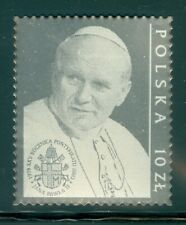 Poland 2003 Joint Issue with Vatican: John Paul II 25th Anniv. Silver MNH