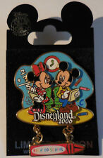 Disney DLR Back to School 2006 Mickey and Minnie Pin LE 500
