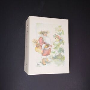 VTG Hallmark Photo Album Holiday Memories 100 Photos  4X6 Santa