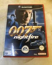 007 Nightfire - Nintendo Gamecube - James Bond - Good Disc Condition
