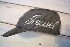 Ladies Zircons Slogan Cadet Hat Cap