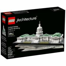NEW Sealed! LEGO Architecture 21030 United States Capitol Building Kit 1032pcs