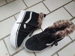 VANS Kinder Sneaker ,gr 34,5 ,schwarz  Mädchen  Schuhe