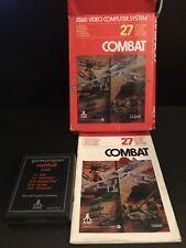 Atari 2600 Combat (With Original Manual And Box)