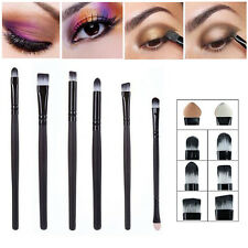 6pcs Pro Eye Makeup Brushes Set Cosmetics Eyeshadow Eyeliner Lip Smudge Brush