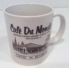 Cafe Du Monde French Market Coffee Mug Souvenir New Orleans LA Beignets